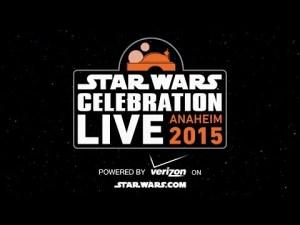 Suivez le star wars célébration ANAHEIM 2015 en live