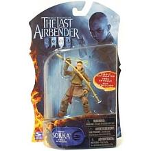 Spin Master - Figurine 10 cm Last Airbender - Sokka Multiples points d'articulation. Les personnages principaux de Last Airbender en position de combat.