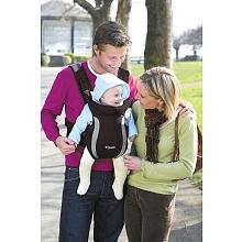 Tomy - Porte-bébé Freestyle Premier noir et gris De la naissance à 9