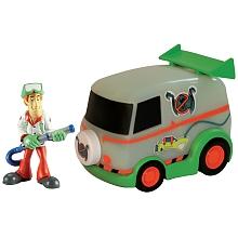 Giochi Preizosi - Véhicule Scooby-Doo + figurine - véhicule chasse fantômes Blister de 1 Figurine avec un véhicule de la gamme Scooby-Doo. Revis les aventures des tes héros.
