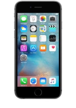 Apple iPhone 6s Gris sidéral 16Go pas cher orange