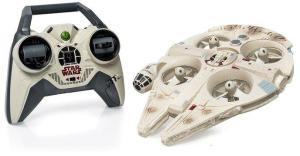 Star Wars : Disney présente un drone Faucon Millenium et un X-Wing