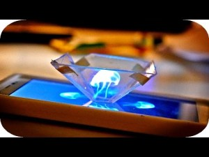 Transformer son smartphone en hologramme 3D comme dans star wars – YouTube