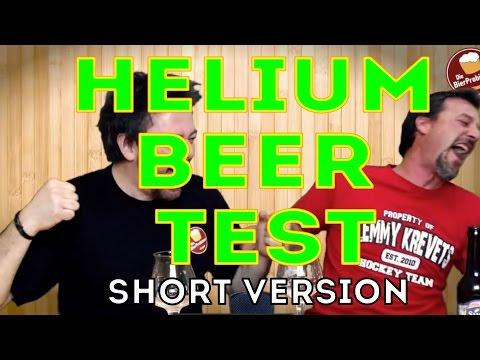 Bière à l'hélium, crise de rire – YouTube