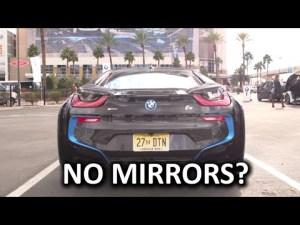 BMW i8 sans rétroviseurs – CES 2016 – YouTube