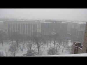 Regarder 'Snowzilla' en direct du toit du Washington Post – YouTube