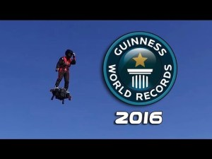 Flyboard Air -Franck Zappa établi un record du monde Guinness World Record – YouTube