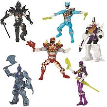 toys' r us Bandai - Cpubt 6 figurines 12 cm Power Rangers Dino Charge