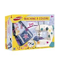 toys' r us Joustra - Machine à coudre blanche et sac besace