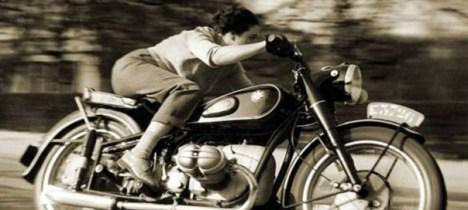 Memoria Narrante, correva la motocicletta color avorio, foto web