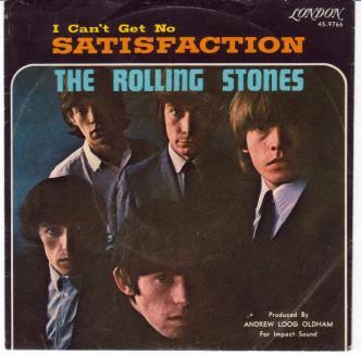 Memoria Narrante, Satisfaction copertina 1965, The Rolling Stones, immagine web
