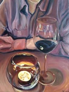 Картина маслом на холсте, масляная живопись