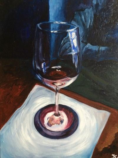 Картина маслом на холсте, масляная живопись, натюрморт