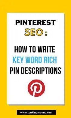 how to write key words for pinterest seo A blog for the love of Pinterest