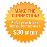 Constant Contact - please let them know Scott Charleboix referred you to save $30.00