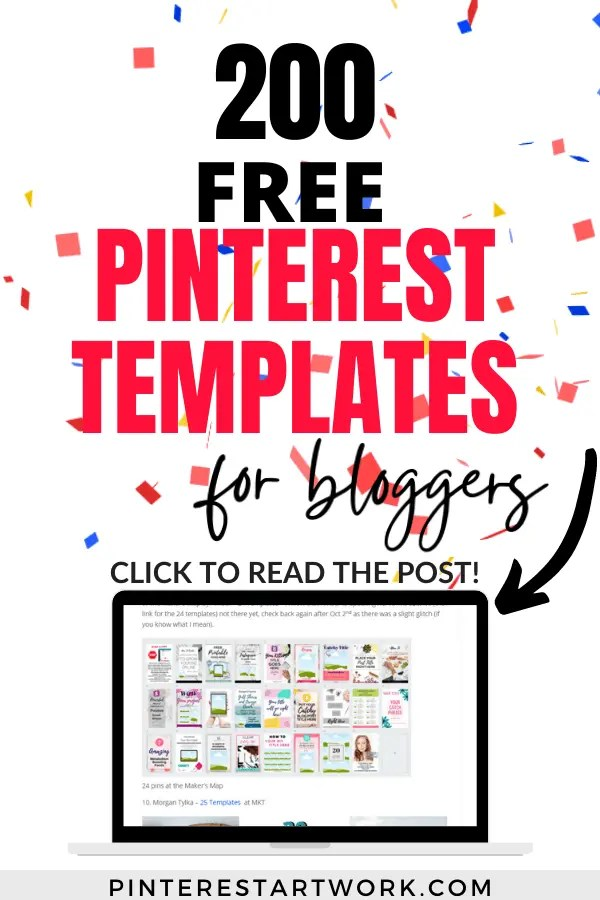 200 Templates for Free