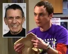 Big Bang Leonary Nimoy DNA A blog for the love of Pinterest