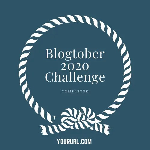 Blogtober Badge 2020 Completed 18 A blog for the love of Pinterest
