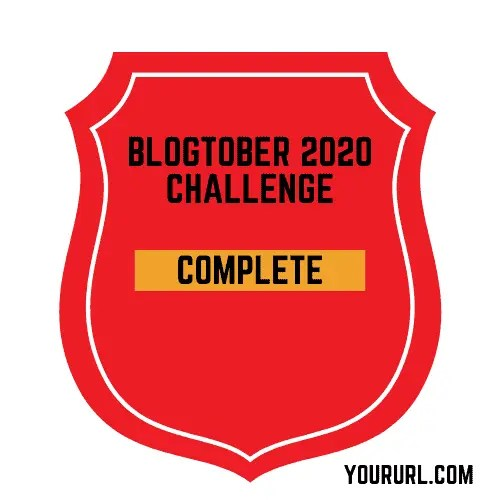 Blogtober Badge 2020 Completed 5 A blog for the love of Pinterest