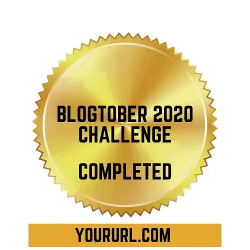 Blogtober Badge 2020 Completed 7 A blog for the love of Pinterest