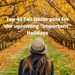 """Top 40 Fall Decor Ideas for """"important"""" Holidays"""