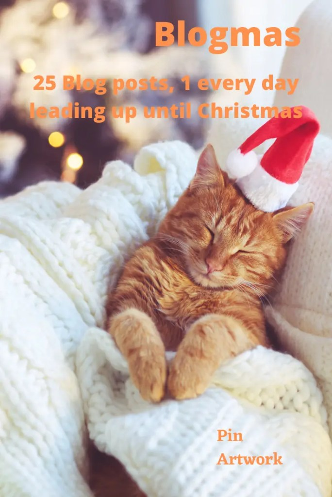 Blogmas - 25 blog posts, 1 every day leading up until Christmas