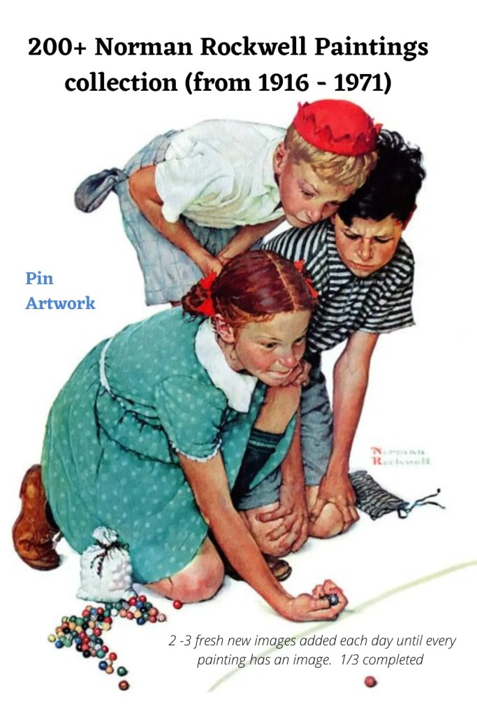 200+ Norman Rockwell paintings