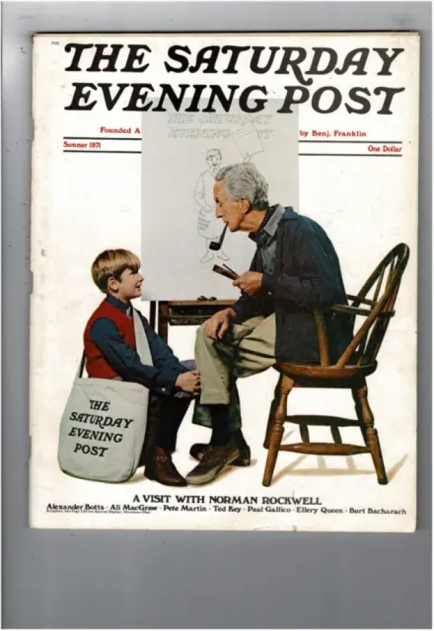 A visit with Norman Rockwell A blog for the love of Pinterest