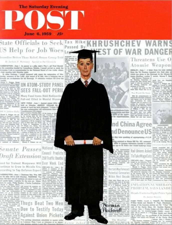 Graduation Day 1959 A blog for the love of Pinterest