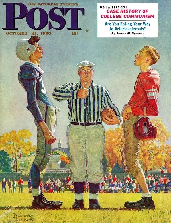 Referee throws the coin toss A blog for the love of Pinterest