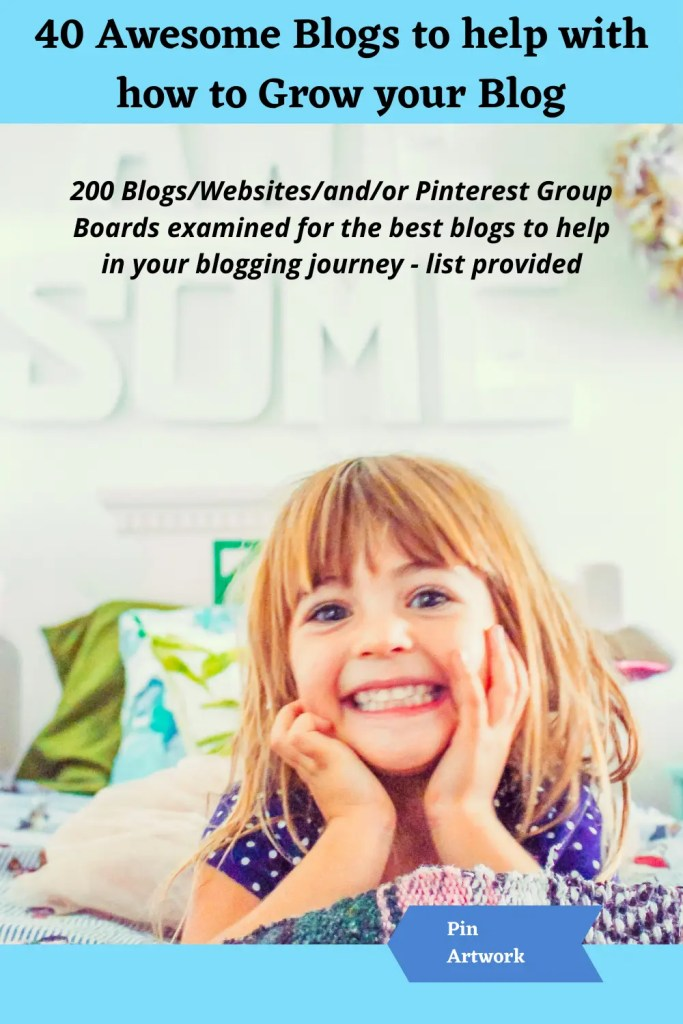 40 awesome blogs to help grow your blog 3 A blog for the love of Pinterest