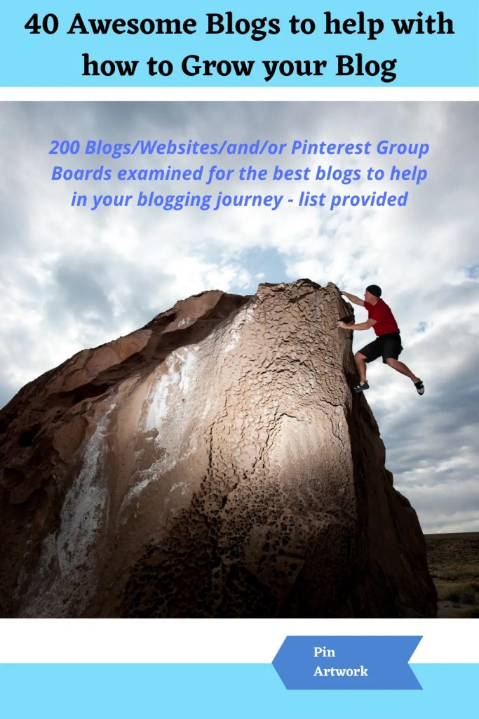 40 awesome blogs to help grow your blog 5 A blog for the love of Pinterest