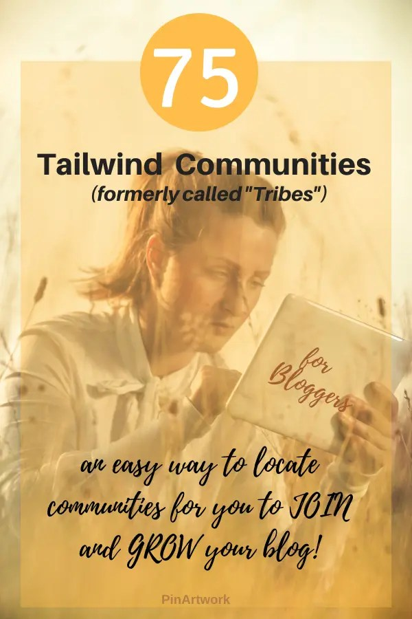 Tailwind Communities to join