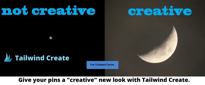 Try Tailwind Create A blog for the love of Pinterest