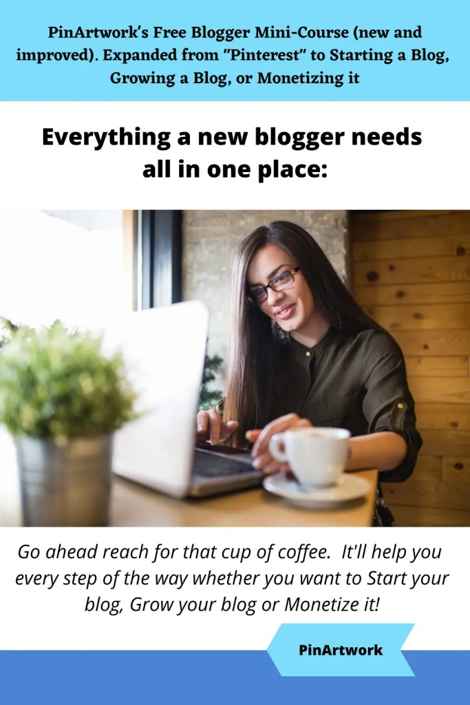 PinArtworks free blogging mini course 10 A blog for the love of Pinterest