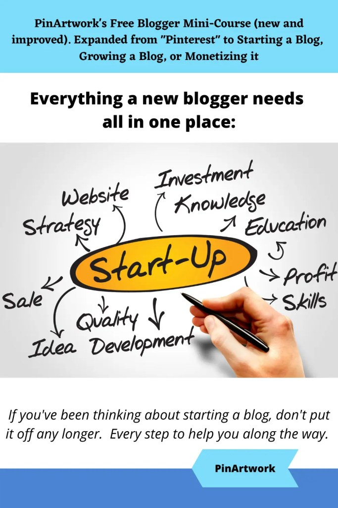 PinArtworks free blogging mini course 7 A blog for the love of Pinterest