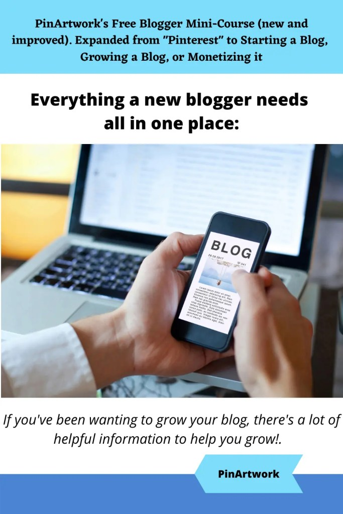 PinArtworks free blogging mini course 8 A blog for the love of Pinterest