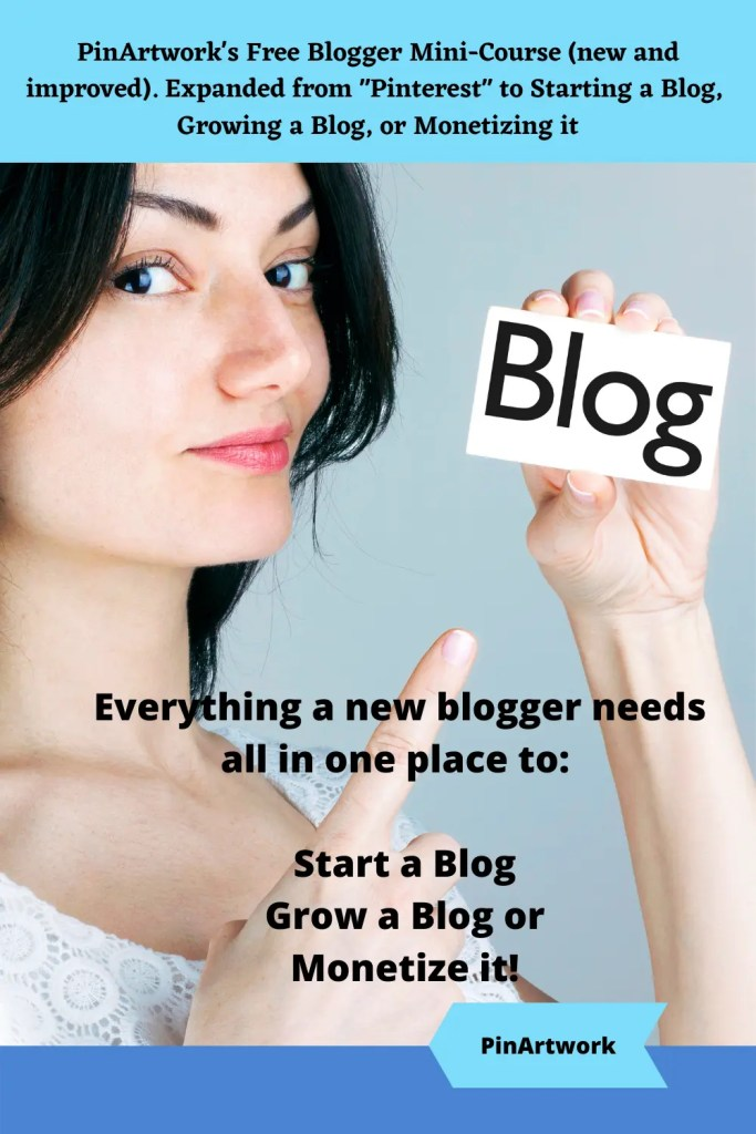 PinArtworks free blogging mini course 9 A blog for the love of Pinterest