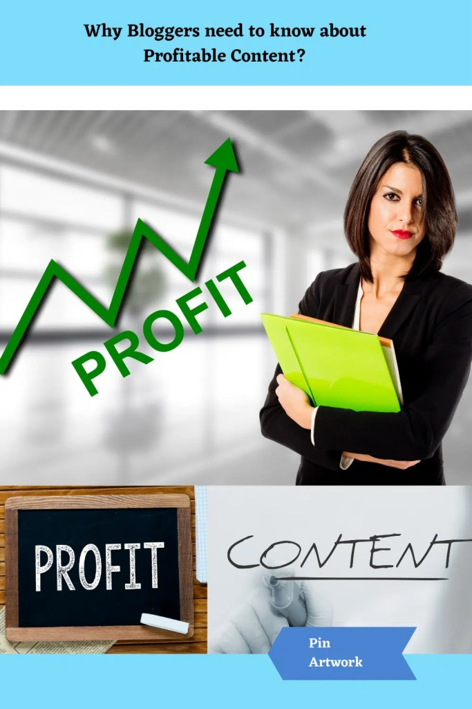 Why Bloggers need to know about Profitable Content 7 A blog for the love of Pinterest