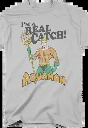 aquaman im a real catch dc comics t shirt.master A blog for the love of Pinterest