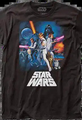 episode iv a new hope poster star wars t shirt.master A blog for the love of Pinterest