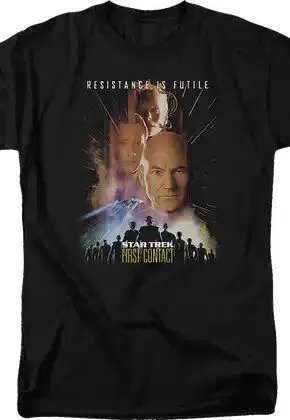first contact poster star trek t shirt.master A blog for the love of Pinterest