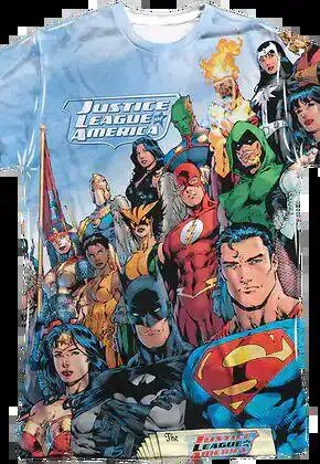 justice league america sublimation shirt.master A blog for the love of Pinterest