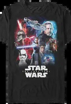 last jedi collage star wars t shirt.master A blog for the love of Pinterest
