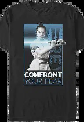 rey confront your fear rise of skywalker star wars t shirt.master A blog for the love of Pinterest