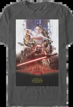 the rise of skywalker movie poster star wars t shirt.master A blog for the love of Pinterest