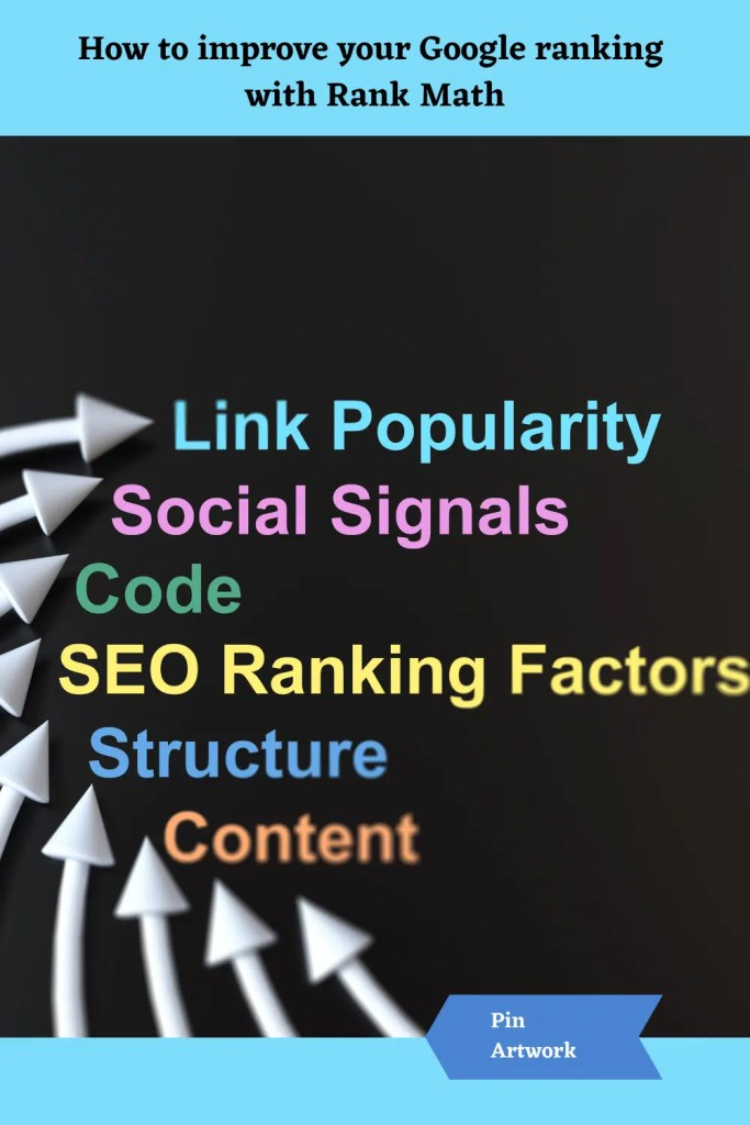 How to improve your Google Ranking with Rank Math 8 A blog for the love of Pinterest