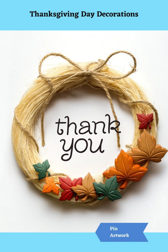 Thanksgiving Day Decorations 7 A blog for the love of Pinterest