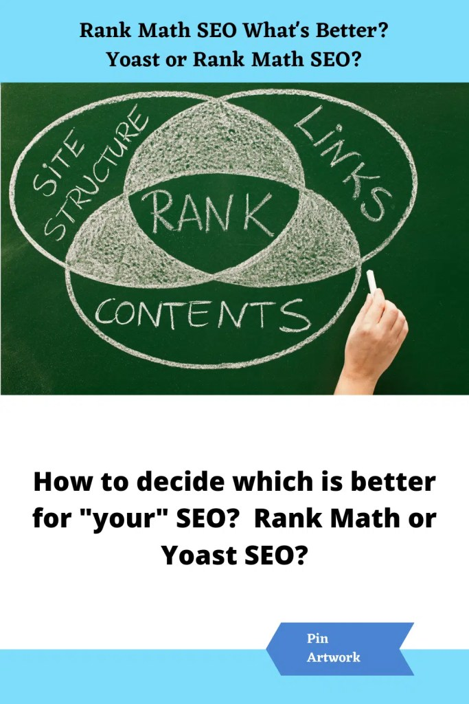 What is better Rank Math or Yoast SEO 2 A blog for the love of Pinterest