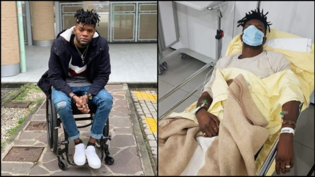 Photos: Fameye's Ex-Manager In Critical Condition, Calls The President For Help